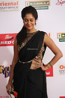 Sindhu looks fabulous in Black Saree designer choli at Mirchi Music Awards South 2017 ~  Exclusive Celebrities Galleries 018.JPG