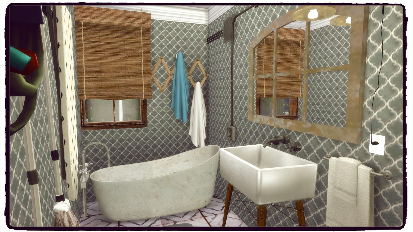 Sims 4 - Tumblr House - Dinha