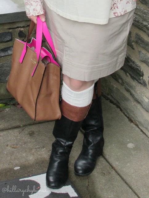 Riding Boots Paired with Boot Socks