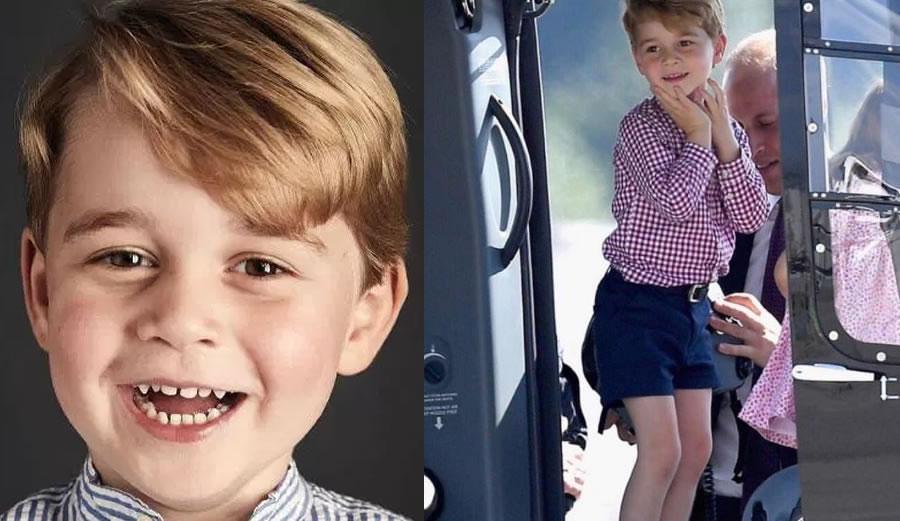 Príncipe George, 4, é chamado de 'reizinho gay' na internet