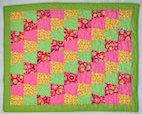 Rosies Garden Tumbler Precut Baby Quilt Kit