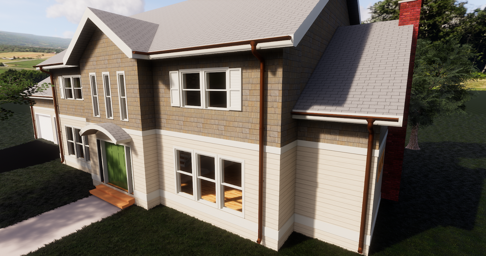 BIM Chapters: Revit Content Review: Lindab Gutters and Downspouts