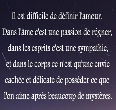 Citation D Amour Pour Lui