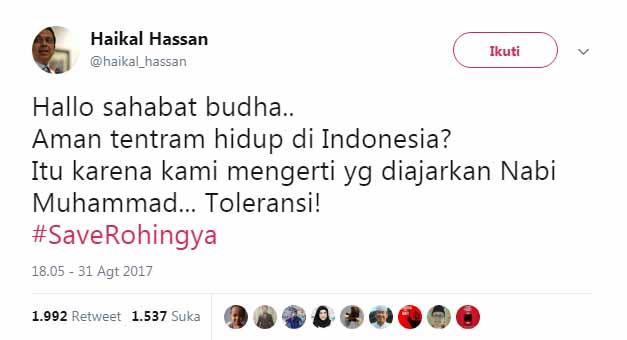 Hallo Sahabat Buddha!, Aman Tentram Hidup di Indonesia? Itu Karena Islam Agama Yang Amalkan Toleransi!