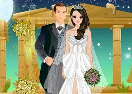 لعبة تلبيس فساتين الزفاف الفاخرة