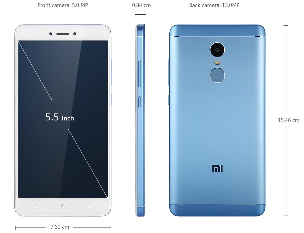 Xiaomi Redmi Note 4x Specs And Price