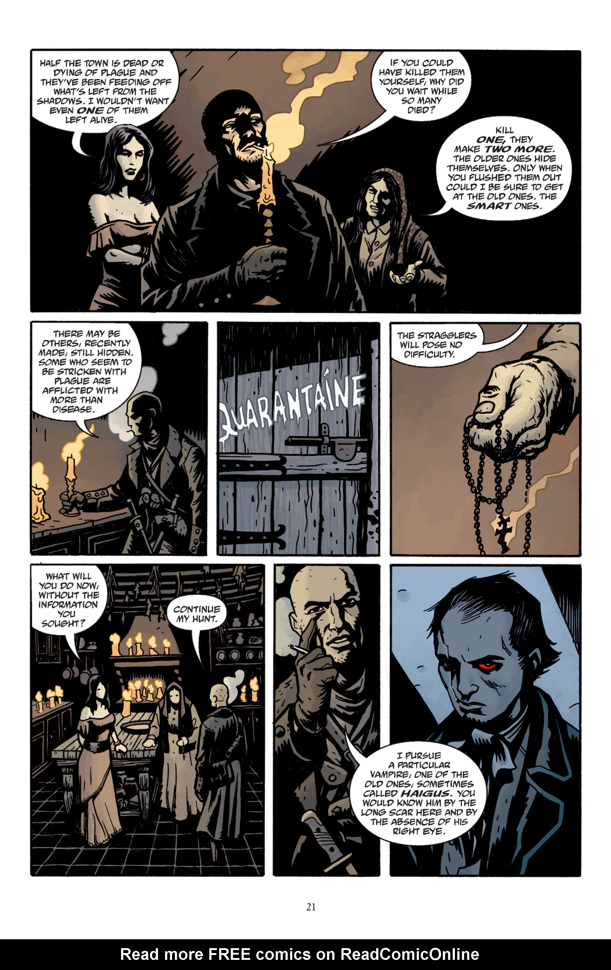 Read online Baltimore: The Plague Ships comic -  Issue # TPB - 23