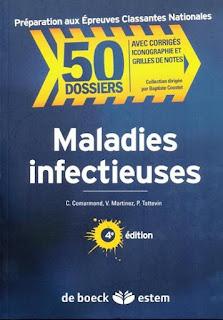 Télécharger | 50 Dossiers de Maladies infectieuse, Cas cliniques Corrigés PDF