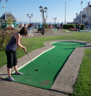 Crazy Golf in Bognor Regis