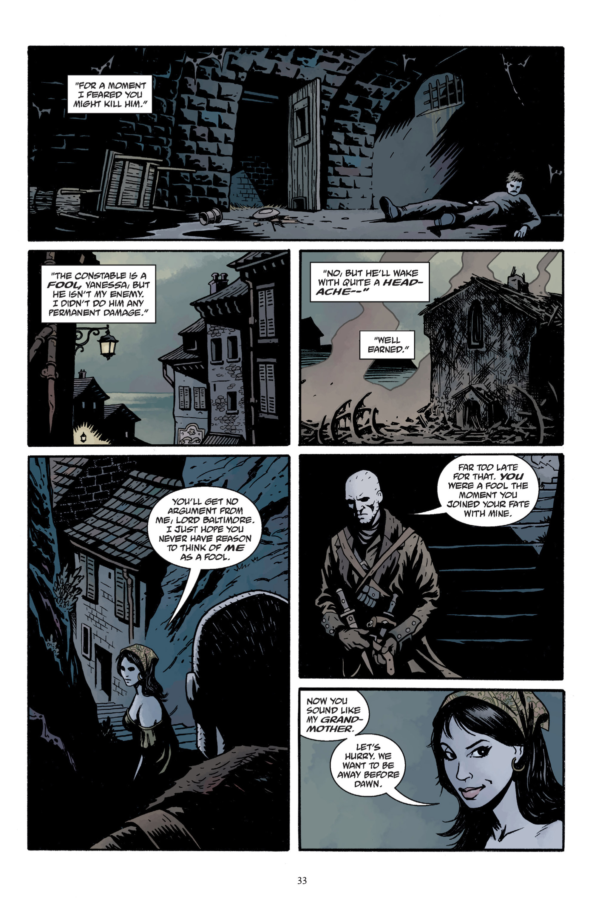 Read online Baltimore: The Plague Ships comic -  Issue # TPB - 35