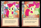 My Little Pony Apple Bloom, Cutie Mark Crusader Marks in Time CCG Card