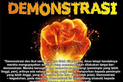 Nasehat Untuk Muslimin Indonesia Terkait Rencana Demontrasi 4 November 2016