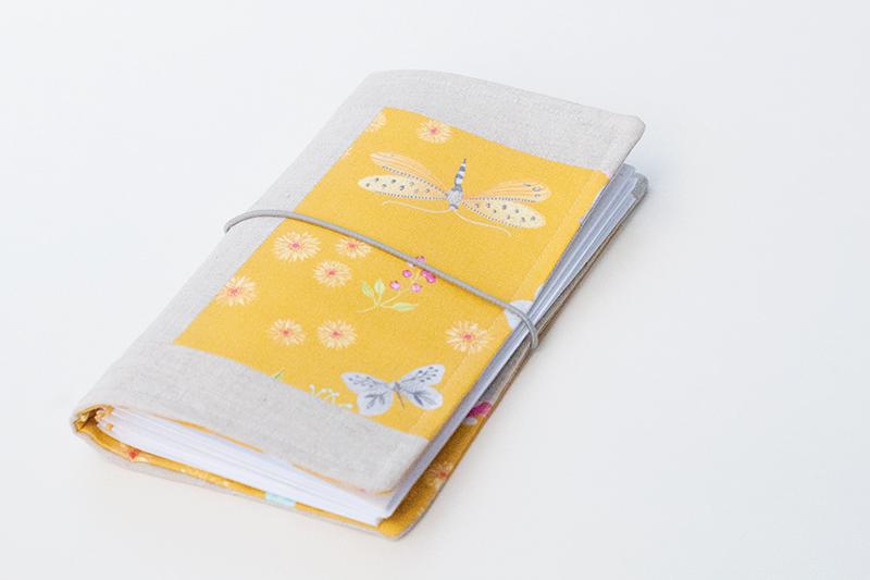 """Quadern de patchwork personalitzat tipus """"Midori"""" 1"""