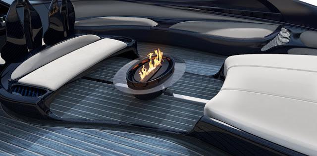 暖炉やジャグジーまで!「ブガッティ・シロン」をイメージした超高級ヨット「Bugatti Niniette 66」がスゴい!