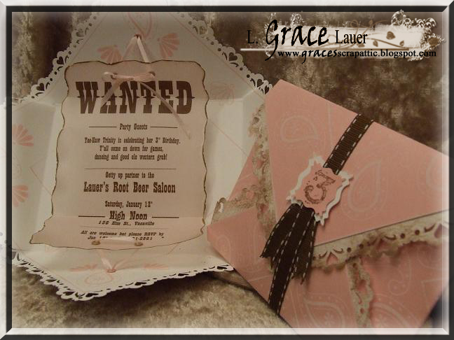 Uniquely Grace Past Birthday Invitations I Have Created
