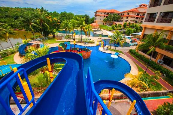 Resort terbaik di melaka