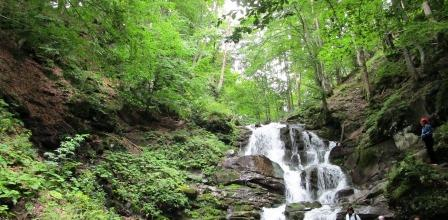 Водоспад Шипіт в селі Пилипець