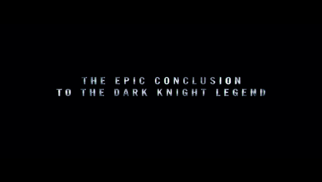 The Dark Knight Rises The Epic Conclusion