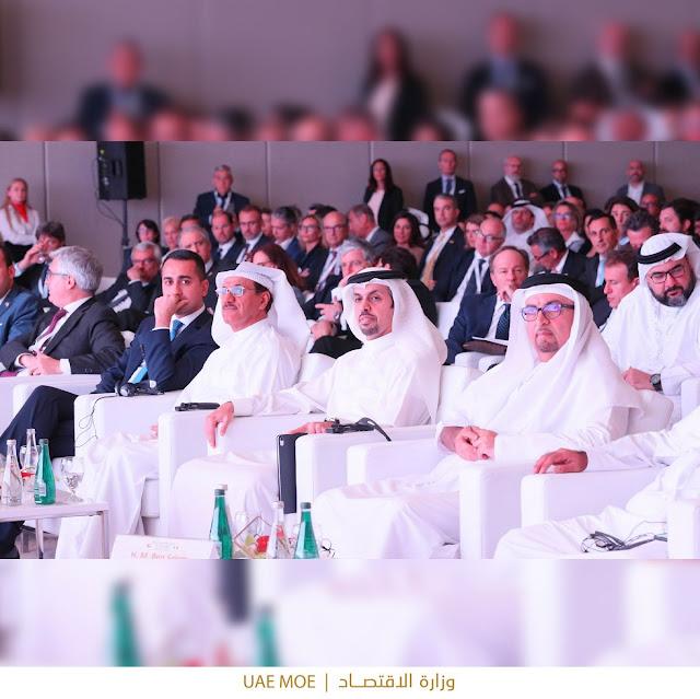 وفد إيطالي يترأسه وزير العمل والتنمية، دي مايو، يزور الامارات العربية لمناقشة التعاون الاقتصادي بين البلدين