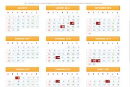 Download Kalender Pendidikan Provinsi Jawa Tengah Tahun Ajaran 2018/2019