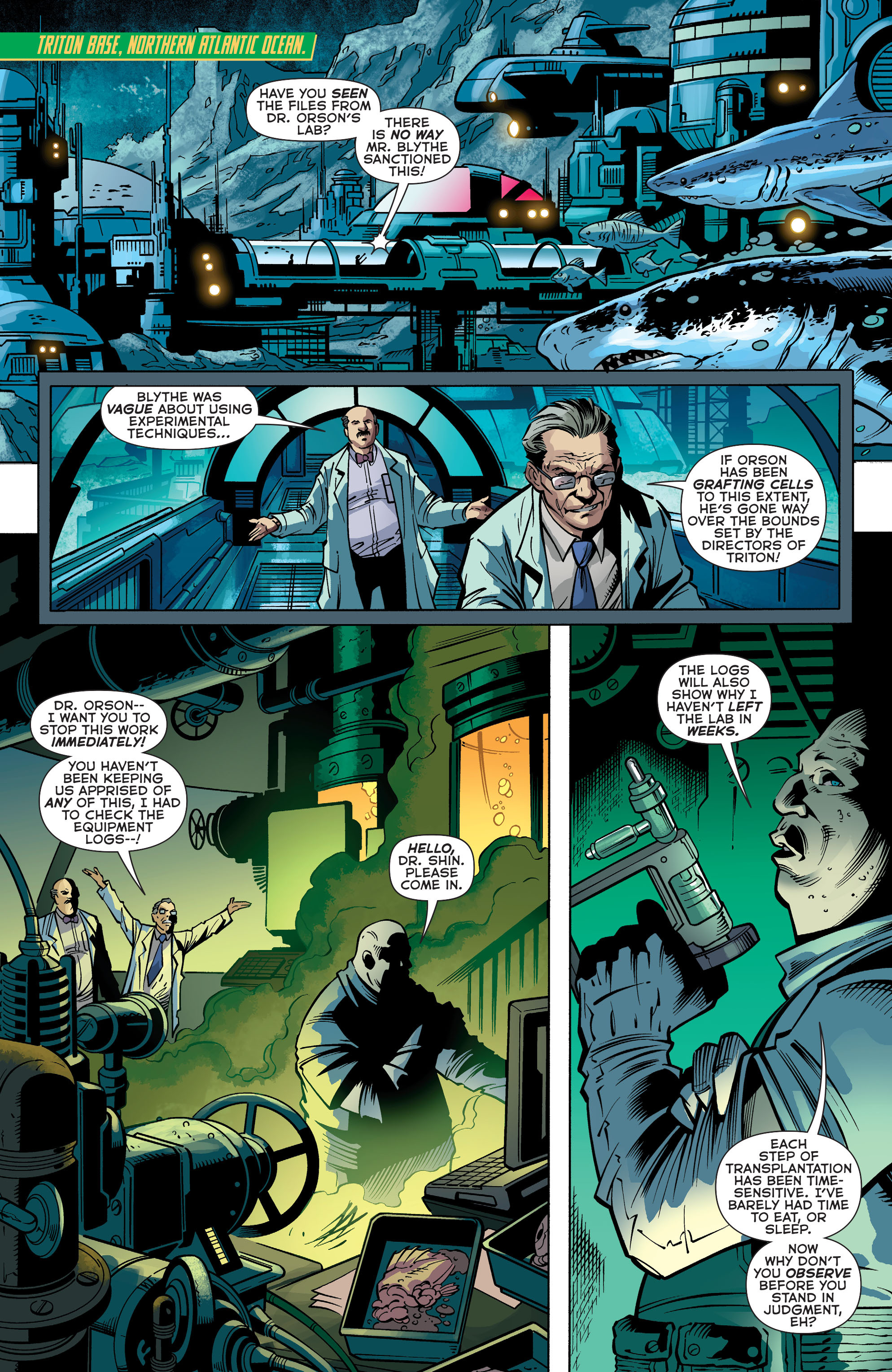 Read online Aquaman (2011) comic -  Issue #31 - 19