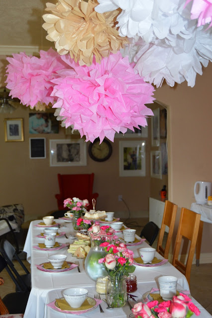 High Tea, Baby Girl, Baby Shower