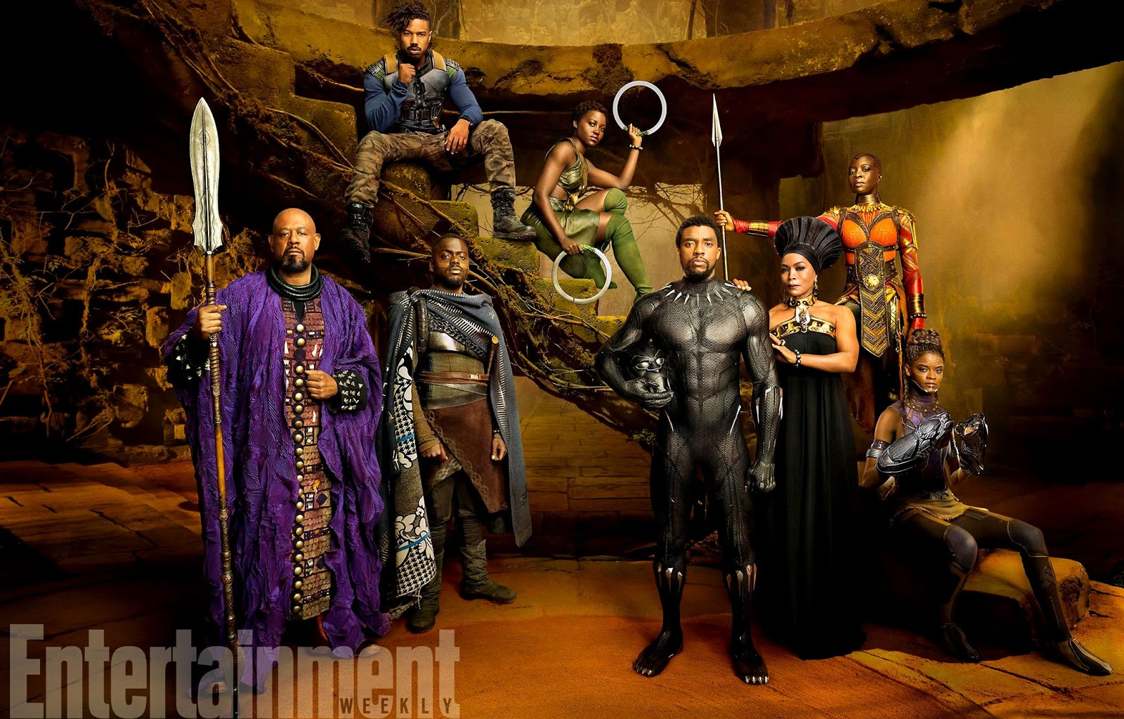 Pantera Negra elenco