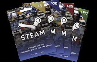"""Gift Card Steam """"Gift Card Global"""" Thẻ quà tặng toàn cầu"""