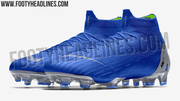 the latest 969c7 57211 Blue / Silver / Volt' Nike Mercurial Superfly 2018-2019 ...