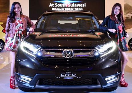 Honda CR-V Turbo Inden 2 Bulan