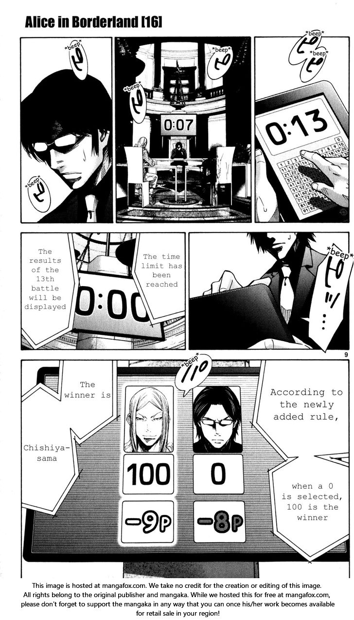 Imawa no Kuni no Alice - Chapter 78