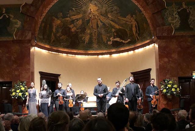 Vivaldi: La Senna festeggiante - Anna Reinhold, Emőke Baráth, Arcangelo, Jonathan Cohen, Callum Thorpe at Wigmore Hall (Photo Arcangelo)