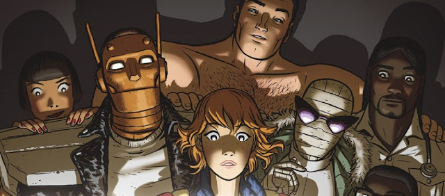 Cómic de Gerard Way Doom Patrol