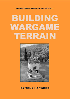 Link to Building Wargame Terrain book by Tony Harwood