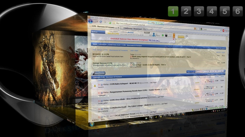 3d cube desktop theam for windows xp/7/8/8. 1/10 in hindi youtube.