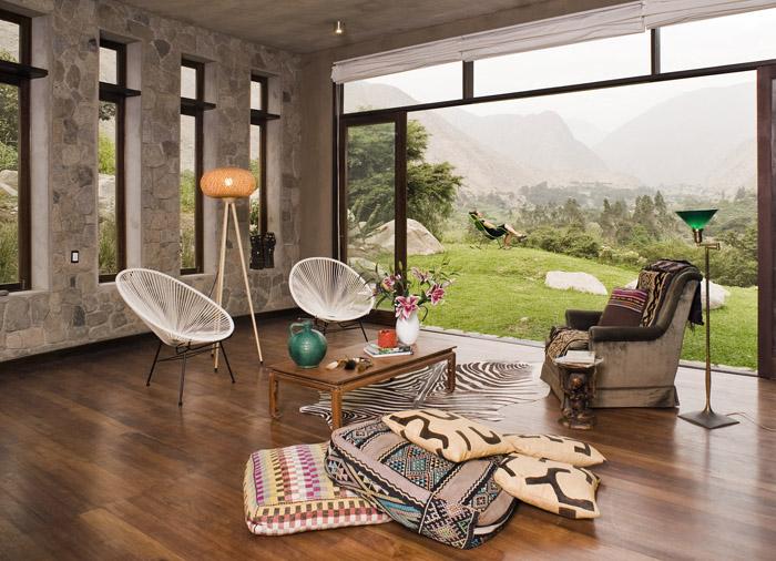 Habitar casa en chontay - Recibidores de casas modernas ...