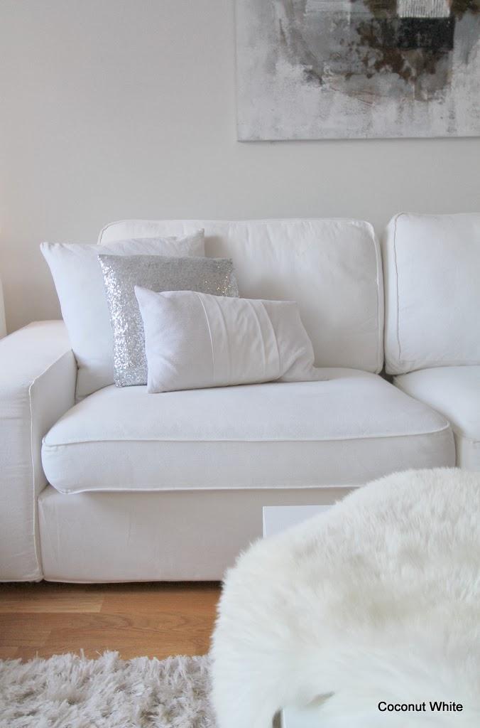 Toivepostaus: Ikean Kivik sohvan kokemuksia | Coconut White