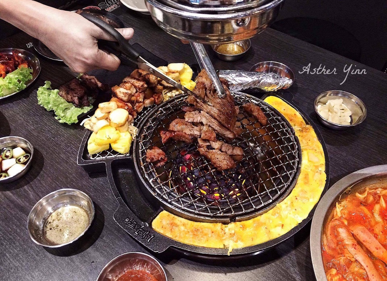 Asther yinn shinmapo mapo galmaegi korean bbq - How to build a korean bbq table ...