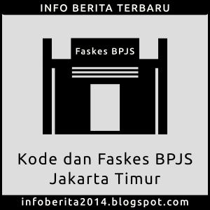 Kode dan Faskes BPJS Kesehatan Jakarta Timur