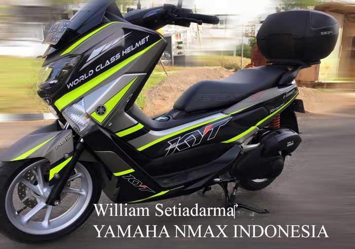harga spesifikasi  modifikasi  yamaha nmax cc