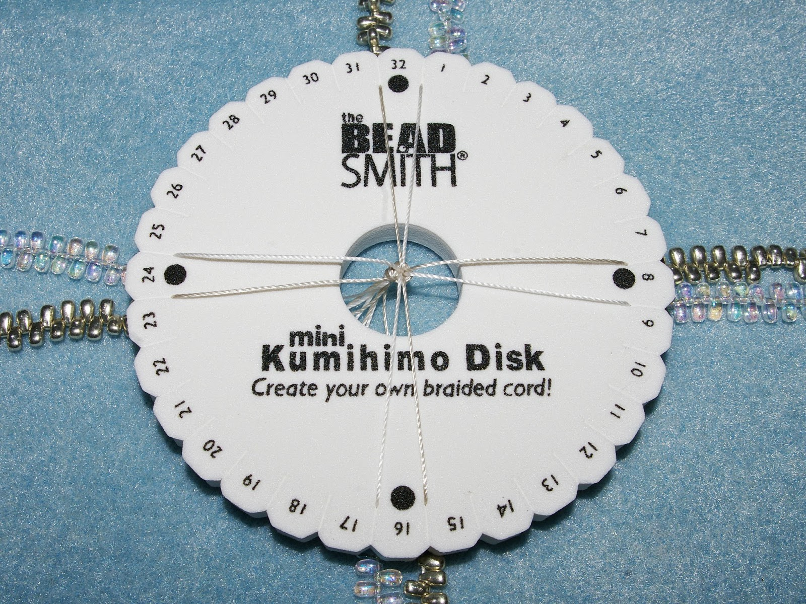 Kumihimo - Braiding with beads tutorial – Nosek's Just Gems