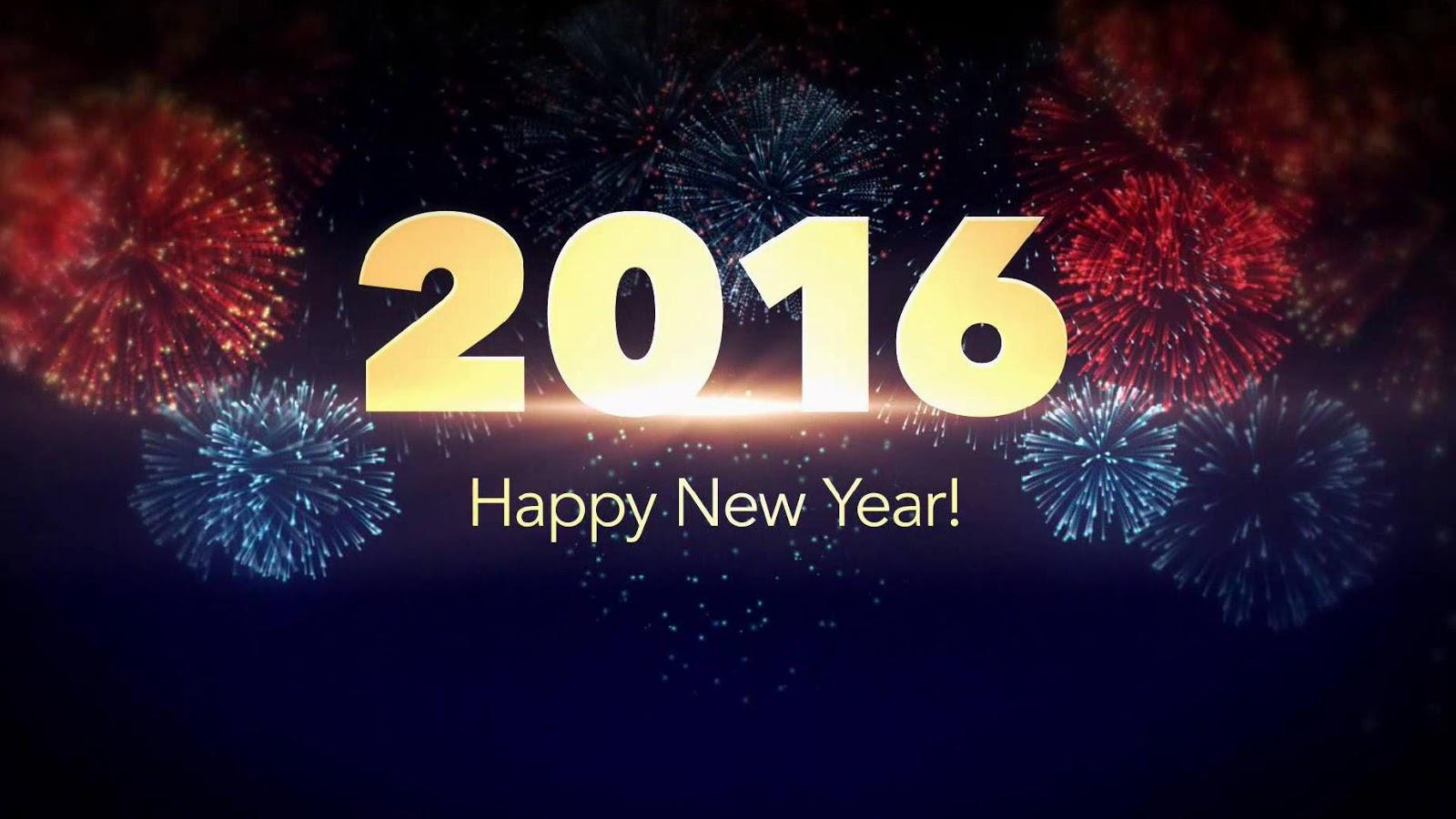 Gambar Kata Ucapan DP Selamat Tahun Baru 2016 Terbarutau