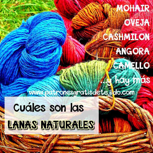 cuales son las lanas naturales