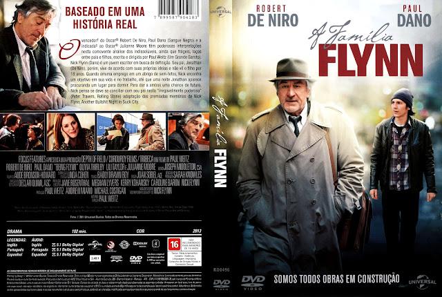 Capa DVD A Família Flynn