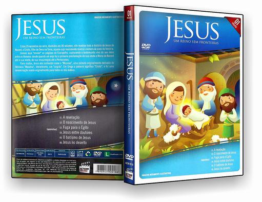DVD – Jesus Um Reino Sem Fronteiras Vol.1 – ISO