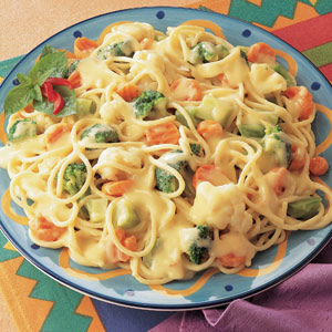 Espaguetis Primavera