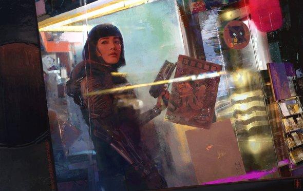 Eve Ventrue artstation deviantart arte ilustrações fantasia ficção científica mulheres