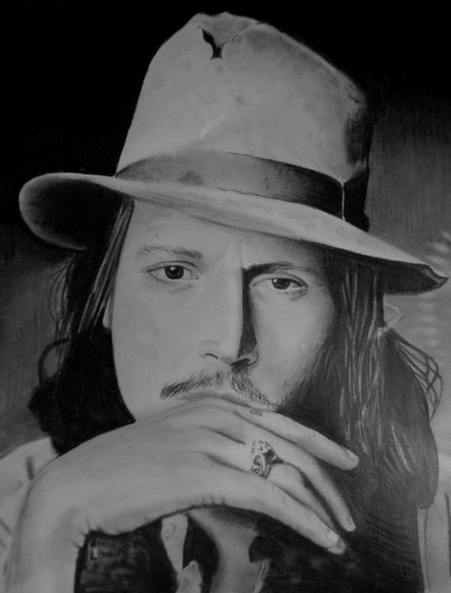 06-Jonny-Depp-Mariusz-Kedzierski-Determination-and-Perseverance-in-Portrait-Drawings-www-designstack-co