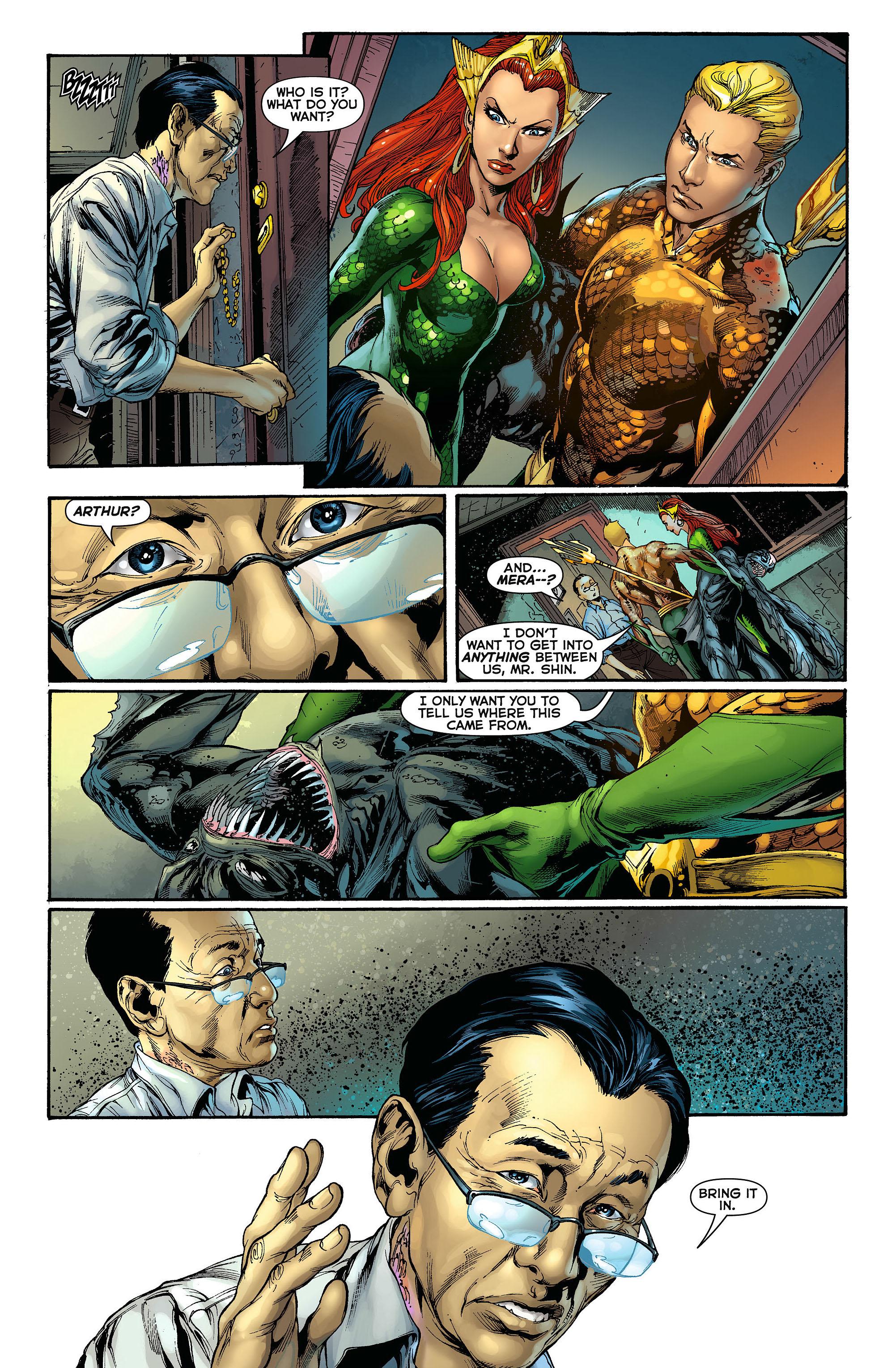 Read online Aquaman (2011) comic -  Issue #3 - 15
