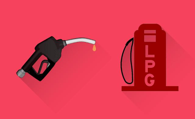petrol vs lpg